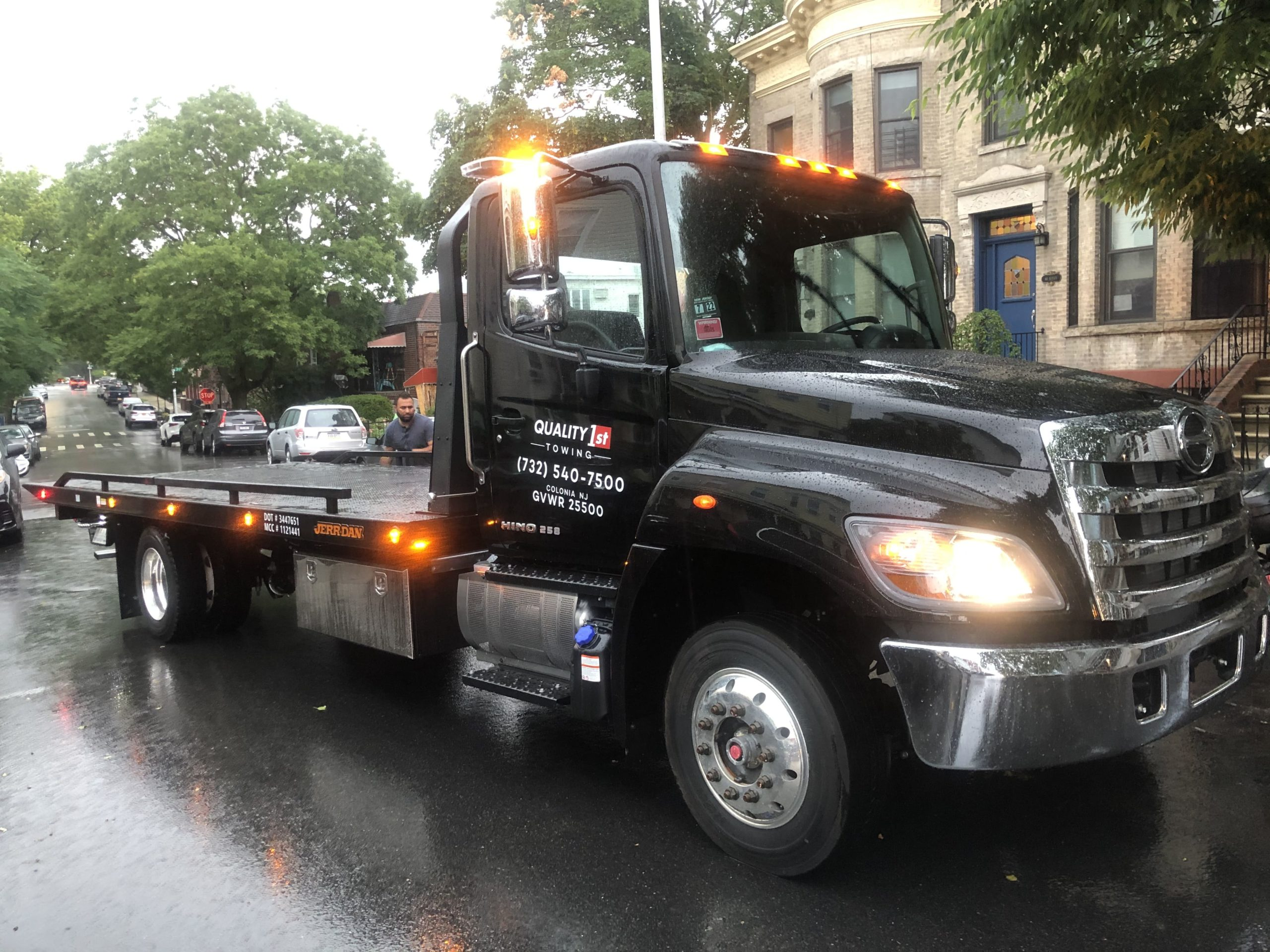 Flatbed towing nj